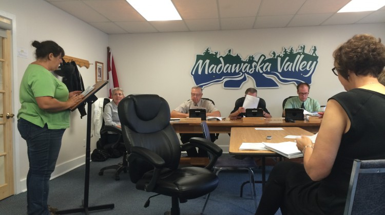 (Photo: The Combermere Recreation Committee was discussed at the Madawaska Valley Recreation Heritage and Culture Committee meeting in Barry's Bay September 4th.  Credit: Amanda Lorbetski)