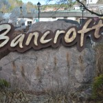 town of bancroft sign
