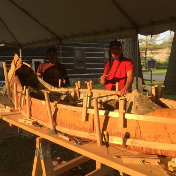 canoe algonquin first nation