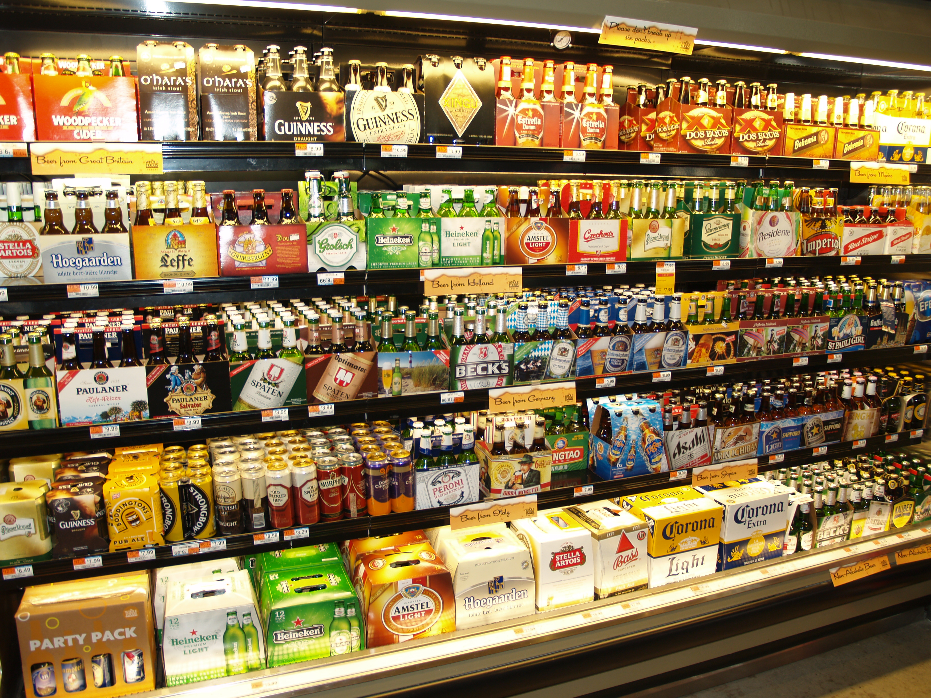 Now My In Yet No Grocery - Bancroft Alcohol Stores