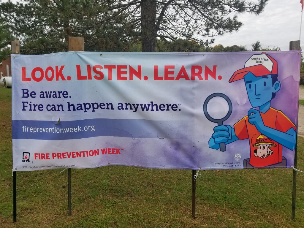 Listen Fire Safety : Fire prevention week starts next my bancroft now
