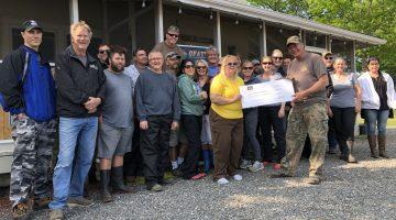 coe hill atv club feed the community