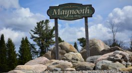 maynooth town sign