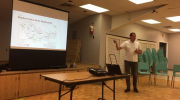 Ontario Power Generation barry's bay meeting upper madawaska valley river