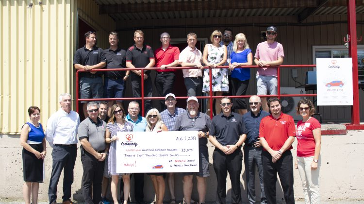 united way hastings prince edward cars for community