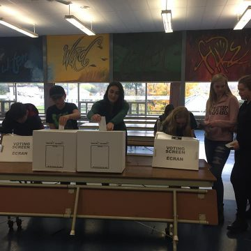 student vote north hastings high 2019