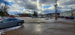 McCaskie parking lot