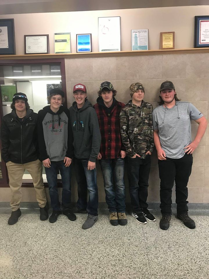 "Six North Hastings High School students ""humbled"" by the reaction to their good deed"