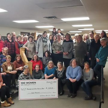 100+ women who care bancroft maggie`s